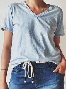 Bilde av Lys blå - Coldwash T-Skjorte
