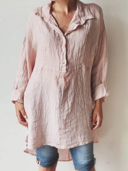 Rosa - Dandy Oversized Skjorte