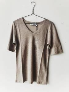 Bilde av Sand - Lin T-skjorte