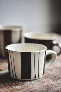 Bilde av Sort/hvit - Stripete Latte