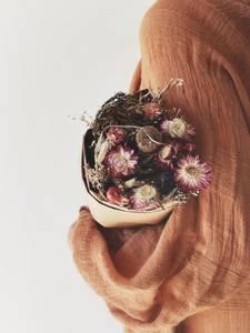 Bilde av Rosa - Tørket Strå/Blomst