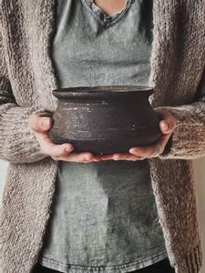 Bilde av Vintage Keramikkvase Stor 7