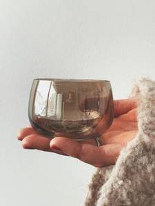 Bilde av Cognac - Buet Lysglass