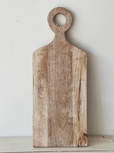 Stor trefjøl m/håndtak