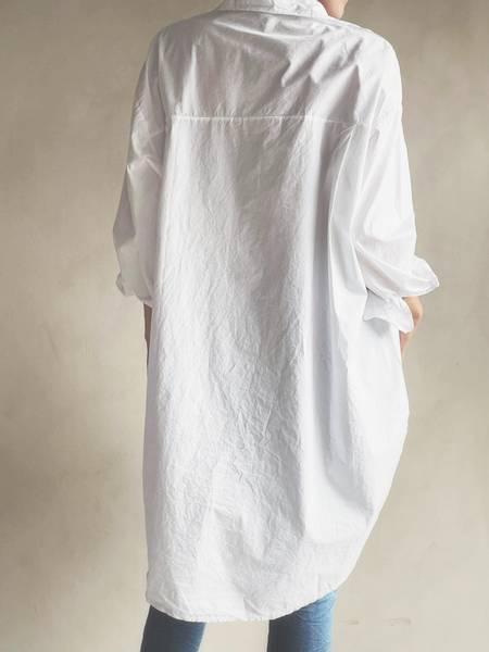 Hvit - Boyfriend Skjorte